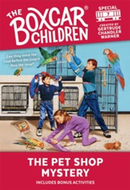 The Pet Shop Mystery  -     