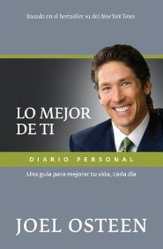 Mejor de ti, diario personal, Become a Better You, Journal  -     By: Joel Osteen