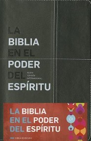 La Biblia en el poder del Espiritu NVI, Black  -     By: David Mains