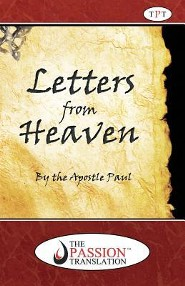 Letters from Heaven by the Apostle Paul, softcover