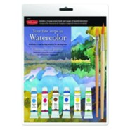Your First Steps in Watercolor Kit: Materials & Step-By-Step Projects for the Beginner [With 2 Paint Brushes and 6 Watercolor Paints and Watercolor Pa