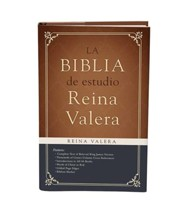 Biblia de estudio Reina Valera 1909, Reina Valera Study Bible 1909, hardcover with dust jacket