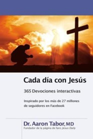 Jesus Daily, Spanish Edition: 365 Interactive Devotions