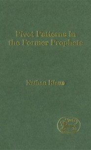 Pivot Patterns in the Former Prophets