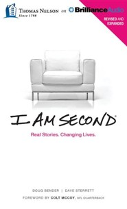 I Am Second: Real Stories. Changing Lives. - unabridged audiobook on CD  -     Narrated By: Tommy Cresswell     By: Dave Sterrett, Doug Bender