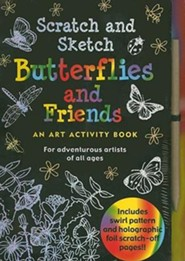 Butterflies and Friends: An Art Activity Book for Adventurous Artists of All Ages [With Wooden Stylus]