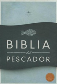 Biblia del Pescador-Rvr 1960, Leather, Black