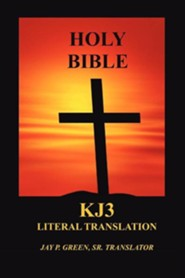 KJ3 Literal Translation Bible, Paper
