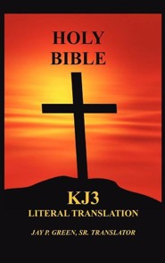 KJ3 Literal Translation Bible, hardcover edition
