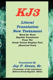 KJ3 Literal Translation New Testament, Paper