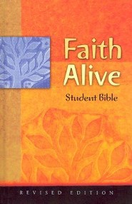 Faith Alive Bible-NIV-Student Revised Edition, Cloth