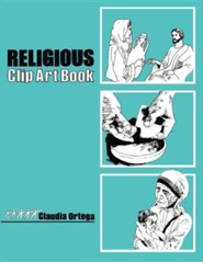 Religious Clip Art Book  -     By: Gloria Ortiz