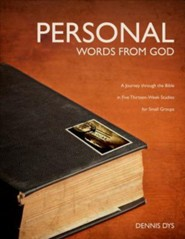 Personal Words from God: A Journey Through the Bible in Five Thirteen-Week Studies for Small Groups