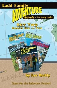 Ladd Family Adventure: Set Two, Books Six to Ten: Mystery of the Wild Surfer/Peril at Pirate's Point/Terror at Forbidden Falls/Eye of the Hurricane/Ni  -     By: Lee Roddy
