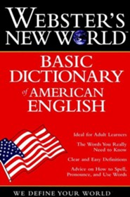Webster's New World Basic Dictionary of American English