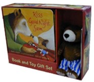 Kiss Good Night: Book and Toy Gift Set [With Plush Toy]