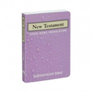 Good News Waterproof New Testament, Lavender   -