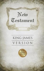KJV New Testament, Edition 400 Anniversary, Paper   -     By: American Bible Society