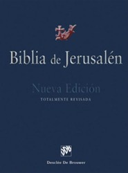 Biblia de Jerusalén Manual Modelo 1; Jewish Bible, new ediiton, totally revised Biblical and Archeological School of Jerusalem - Slightly Imperfect
