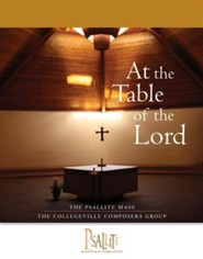 Psallite Mass: At the Table of the Lord - Accompaniment Edition