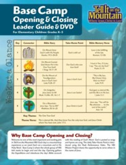 Base Camp Opening / Closing Leader Pack with CD  -