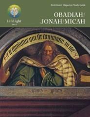 Obadiah/Jonah/Micah Study Guide