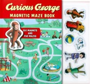 Curious George Magnetic Maze Book  -     By: H.A. Rey