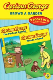 Curious George Grows a Garden (Cgtv Double Reader)  -     By: H.A. Rey