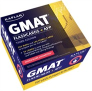 Kaplan GMAT Flashcards: Print + Mobile