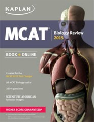 Kaplan MCAT Biology Review: Created for MCAT 2015, Revised