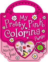 My Pretty Pink Coloring Purse [With Sticker(s)]