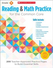 Reading and Math Practice for the Common Core (Grade 5): 200 Teacher-Approved Practice Pages to Build Essential Skills