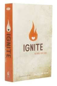 NKJV Ignite: The Bible for Teens, Hardcover