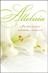 Alleluia Easter Lilies Bulletins (Package of 50)