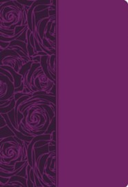 NKJV Woman Thou Art Loosed, Leathersoft, plum  -