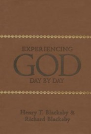 Experiencing God Day by Day, Leathertouch Mass Market Edition