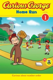 Curious George Home Run  -     By: Erica Zappy, Lazar Saric