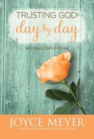 Trusting God Day By Day: 365 Daily Devotions, Audiobook on CD   -              By: Joyce Meyer