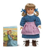 Kirsten Larson 1854 Mini Doll [With Mini Book]  -