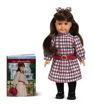 Samantha Parkington 1904 Mini Doll [With Mini Book]  -     By: American Girl