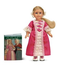Elizabeth Cole 1774 Mini Doll [With Mini Book]  -