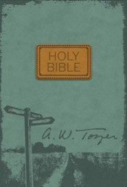 The Pursuit of God Bible, New International Version, Flexisoft, Teal  -     By: A.W. Tozer