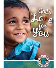 God's Love for You Bible Books, English version only, package of 10  -