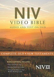 NIV Video Bible: Audio and Text on DVD