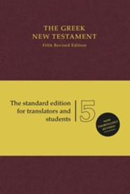 The Greek New Testament, Fifth Revised Edition
