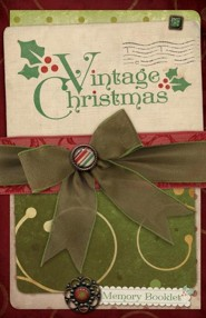 Vintage Christmas Participant Booklet, package of 10
