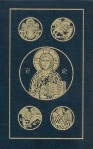 RSV New Testament and Psalms, Catholic Pocket, Edition 2, Leather, Navy