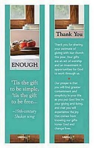 Enough Bookmark, Package of 25