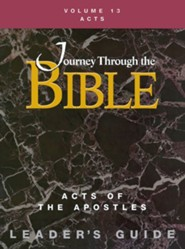 Journey Through the Bible Vol 13 Teacher