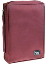 Burgundy Polyester with Fish Emblem SM